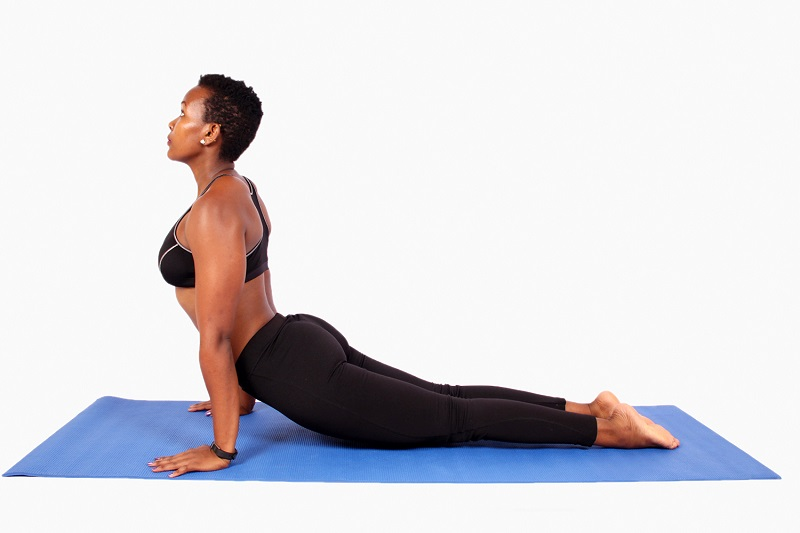 sphinx stretching exercise pose | sphinx pose