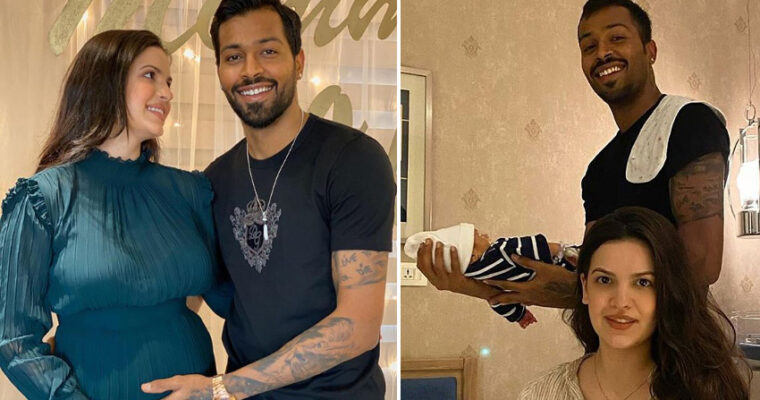 Hardik Pandya and Wife Natasa Stankovic Blessed with a Baby Boy
