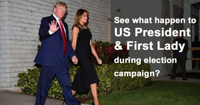 US President Trump & wife Melania Trump Test Positive for Coronavirus