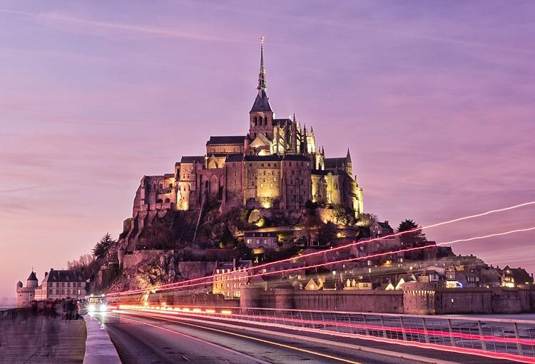 mont-saint-michel, France | best travel destinations in europe