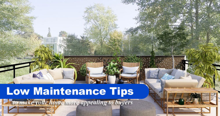 Improve Your Home's Curb Appeal with These Low Maintenance Tips