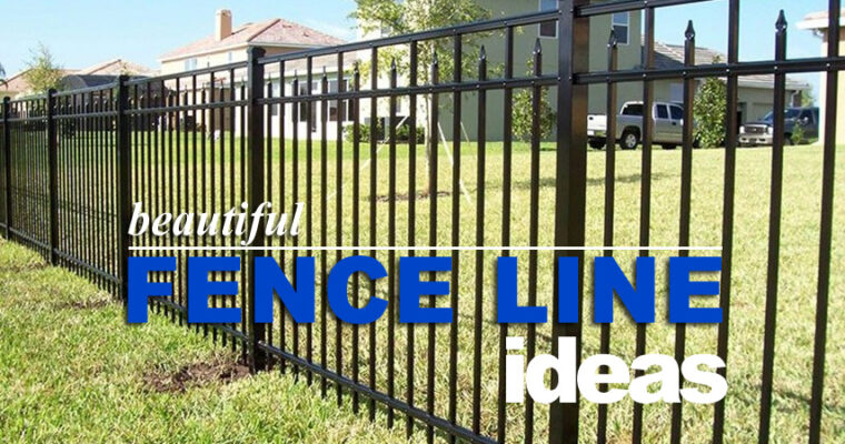 6 Stunning Privacy Fence Line Landscaping Ideas