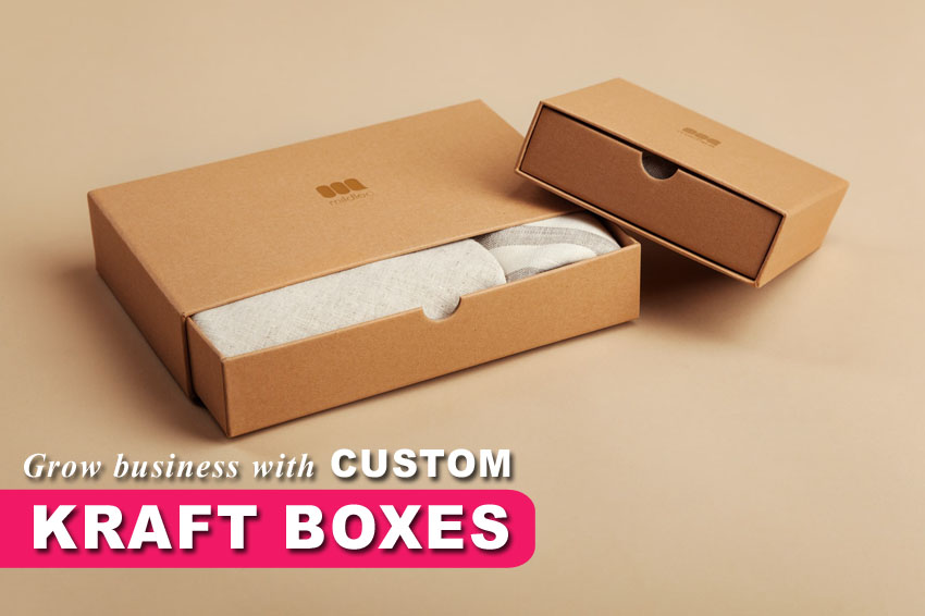 Reasons To Use Kraft Boxes For Packaging Your Products